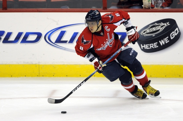 Ovechkin Skates in Washington, DC
