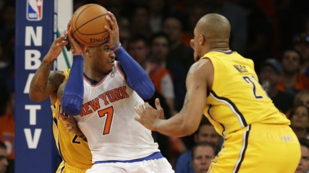 Carmelo Knicks Pacers Game 3